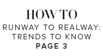 How to Runway to Realway