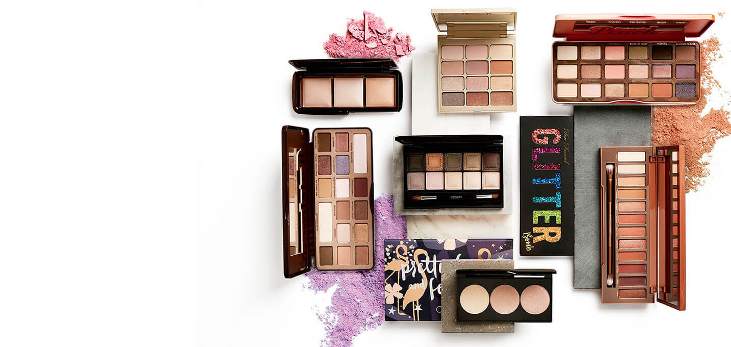 Newest and best selling Makeup Palettes at MECCA