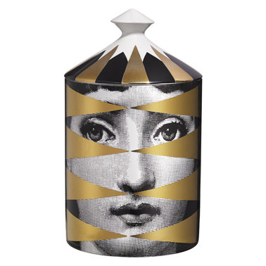 FORNASETTI - Gold Losanghe Candle - 300g