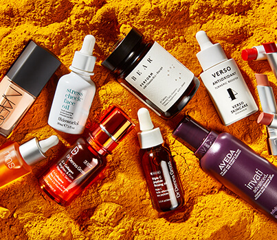 Spice up your beauty regime with turmeric-laced products
