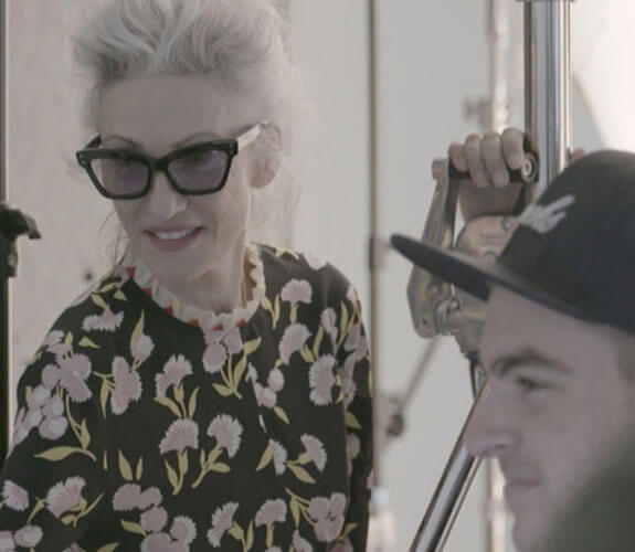 On Set with Harper Bazaar & Linda Rodin