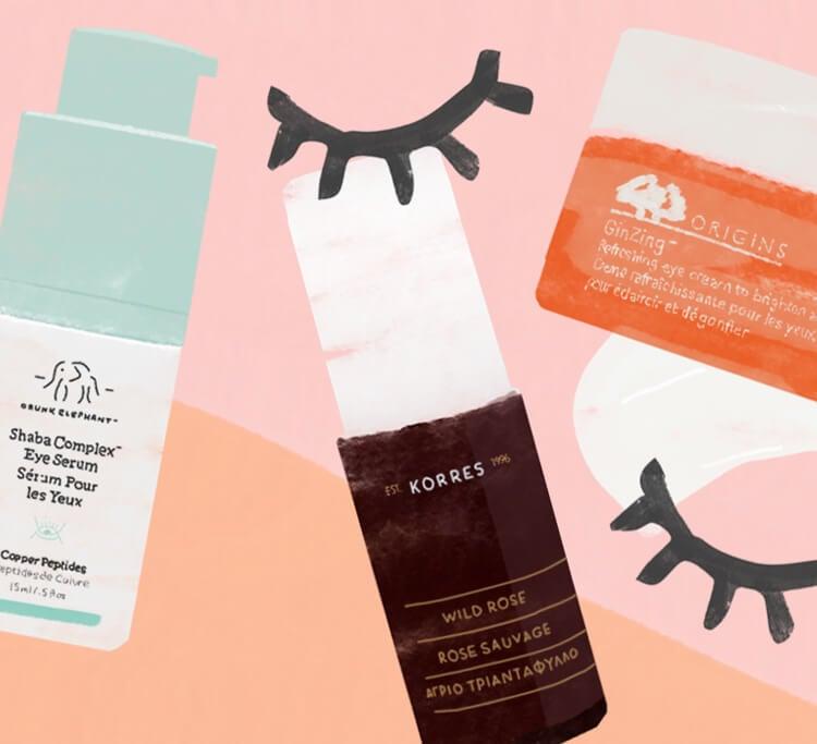 Look alive: It's our bestselling eye creams