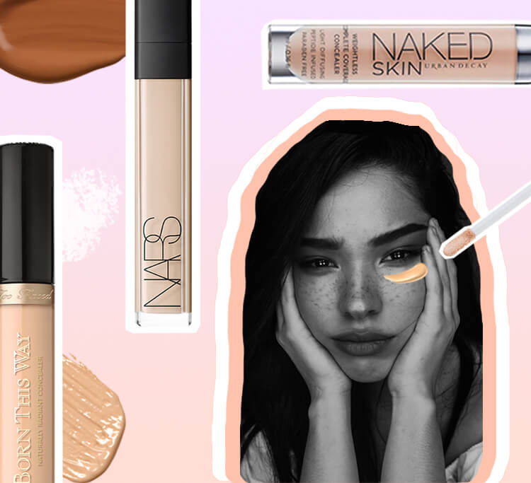 The great cover-up: our five bestselling concealers