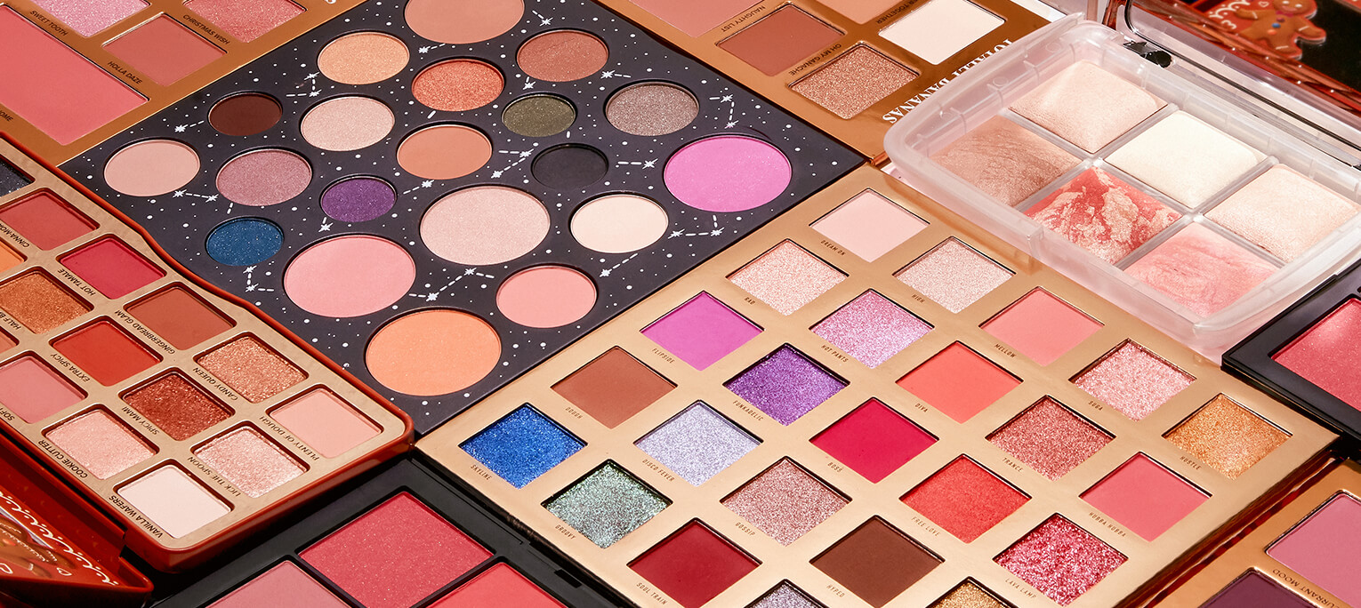 One for you, one for them: the 7 best holiday palettes