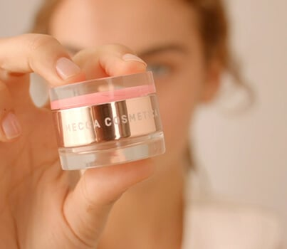 Try this: Mecca Cosmetica's new on-the-go blush and highlighter duo