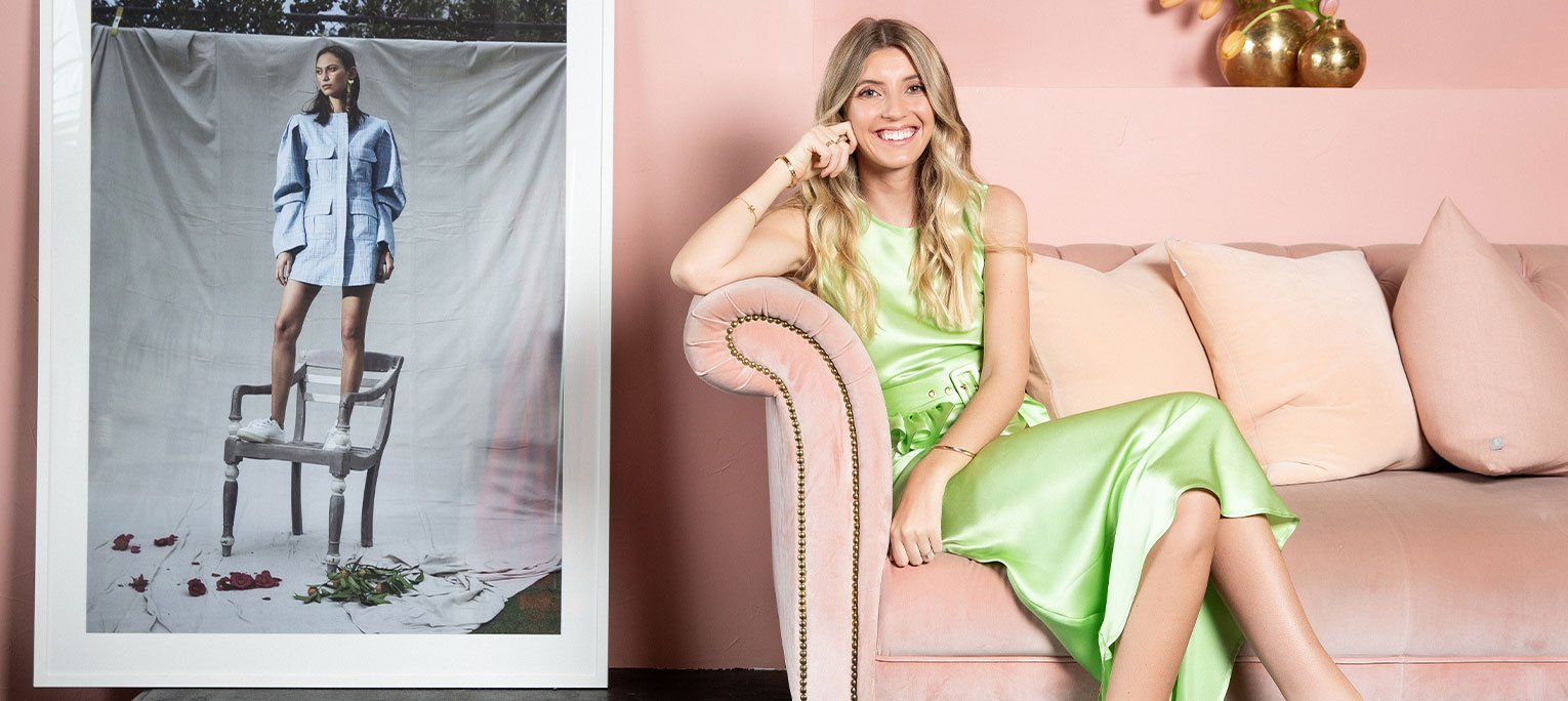 Maggie Marilyn on making clothes and wearing makeup that's real world-ready (and sustainable)