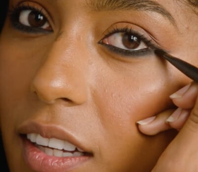 WATCH: Eyeliner updates! Learn how to do the reverse cat-eye here