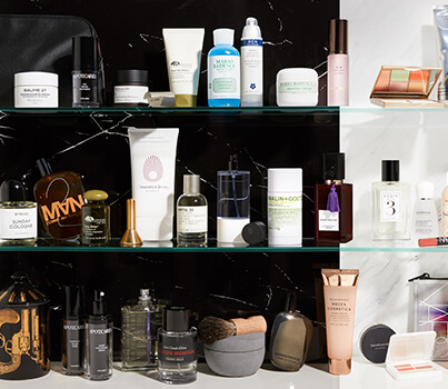 MECCA men, it's time to reclaim your bathroom cabinet