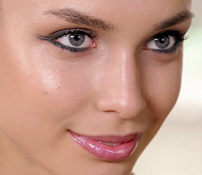MASTER THE MATTE GREY DOUBLED-WINGED EYE