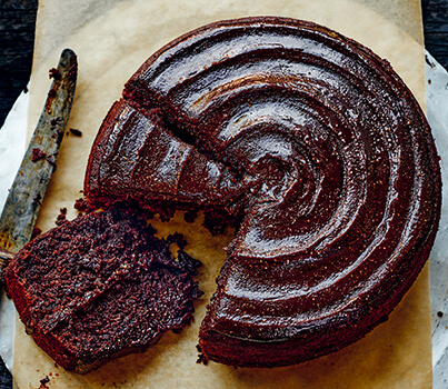 According to Donna Hay, this fudgy chocolate cake makes the nice list. Here's the recipe