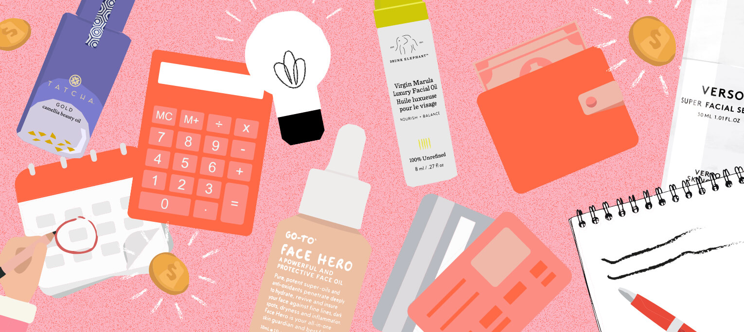6 tips to having it all: the serums, the shoes and the savings