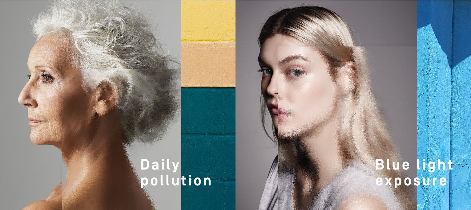 Daily Pollution, Blue Light Exposure