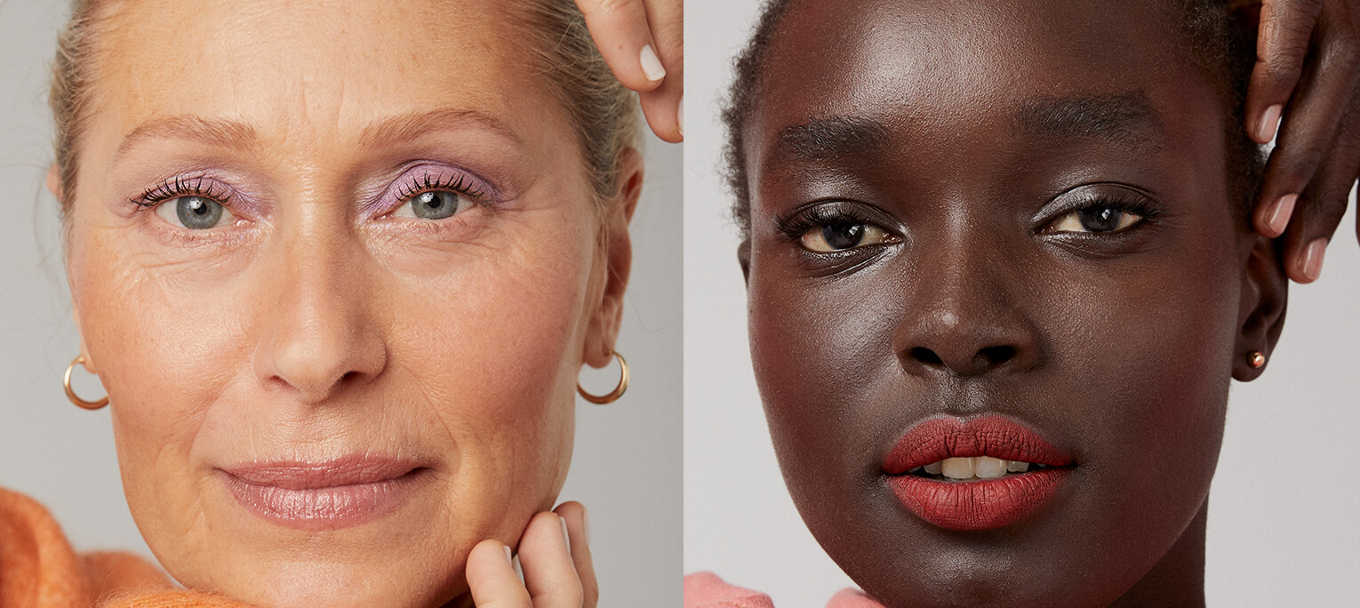 Our top foundations for teen, millennial and mature skin