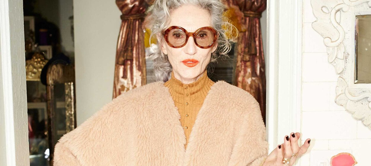 LINDA RODIN GLOBAL STYLE ICON & BRAND FOUNDER
