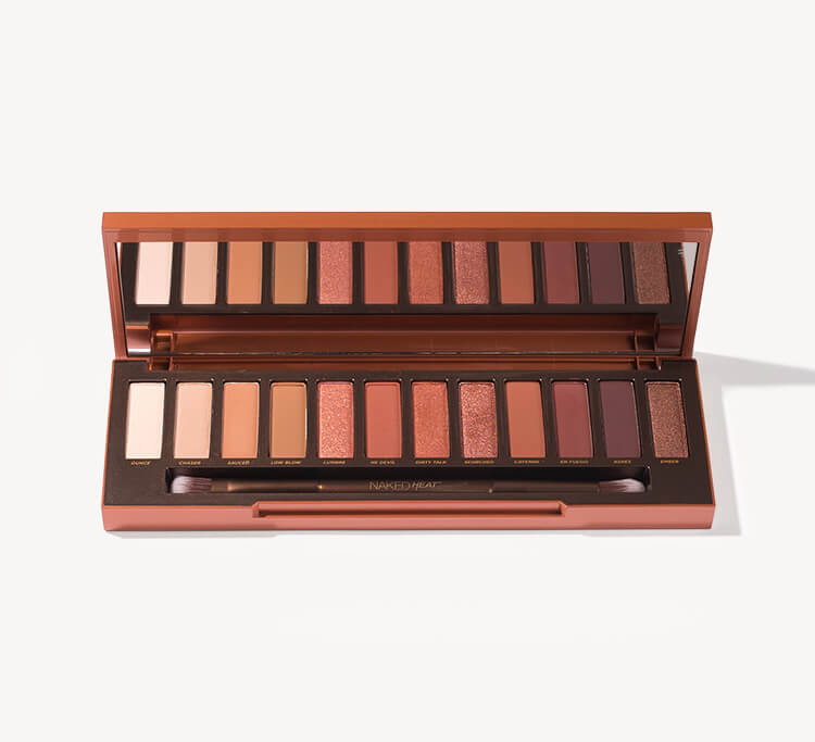Urban Decay Naked Heat Eyeshadow Palette at MECCA