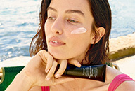 The easiest way to reapply sunscreen without ruining your makeup