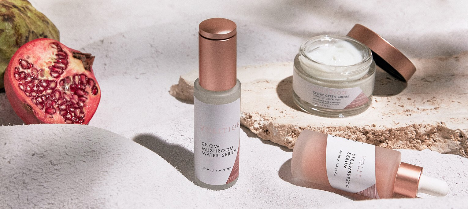 Our top 5 products to try from Volition, the first ever user-generated skincare brand