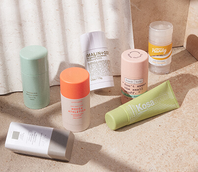 MECCA's guide to natural deodorants: we round up the best for your body