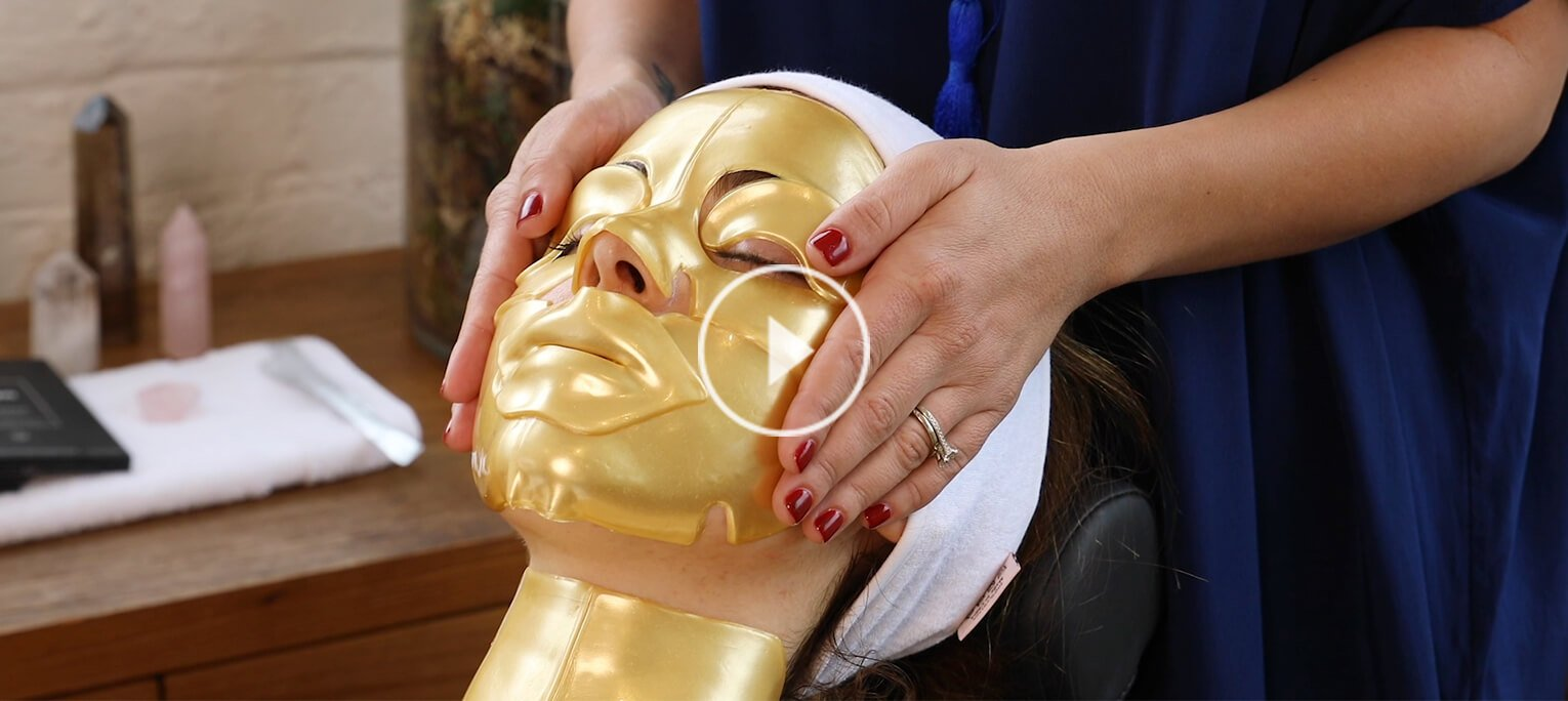 These reiki-charged masks nourish the skin and spirit
