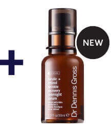 NEW DR DENNIS GROSS | Ferulic + Retinol Wrinkle Recovery Overnight Serum