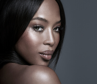 Naomi Campbell shares her beauty and skin tips