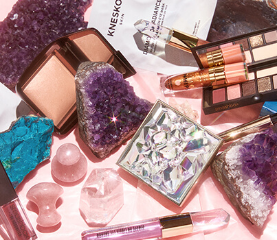 Why crystals are charging up your makeup and skincare