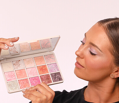 Create endless, shimmering looks using this one $38 palette