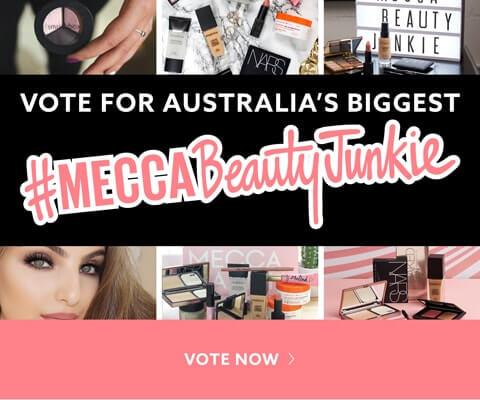 Vote For Australia's Biggest #MECCABeautyJunkie