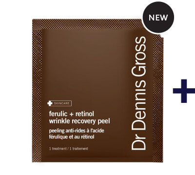NEW DR DENNIS GROSS | Ferulic + Retinol Overnight Peel