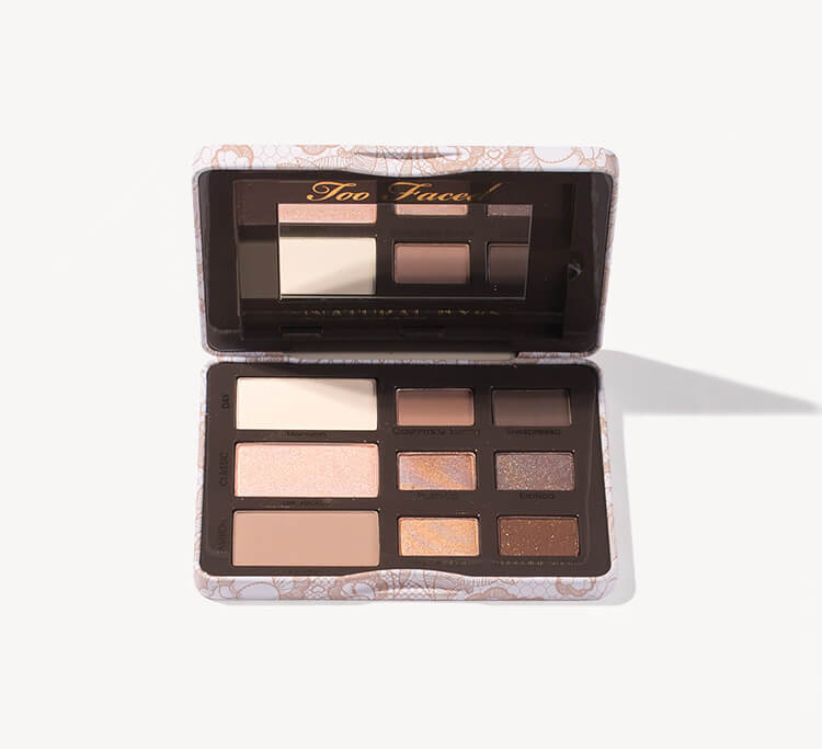 Too Faced Natural Eyes Eye Shadow Collection at MECCA