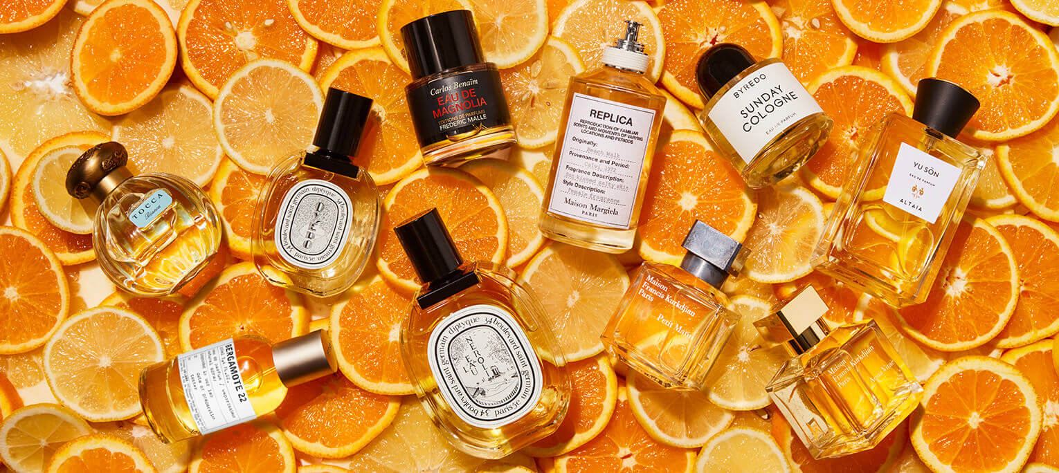 These citrus scents are like sunshine in a bottle