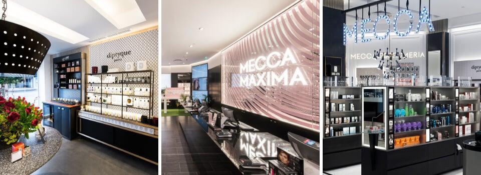 Mecca Cosmetica, Mecca Maxima and MECCA