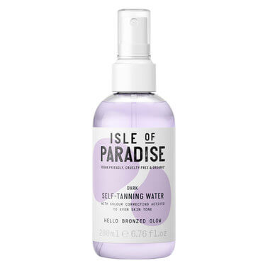 Isle Of Paradise - TANNING WATER DARK 200ML