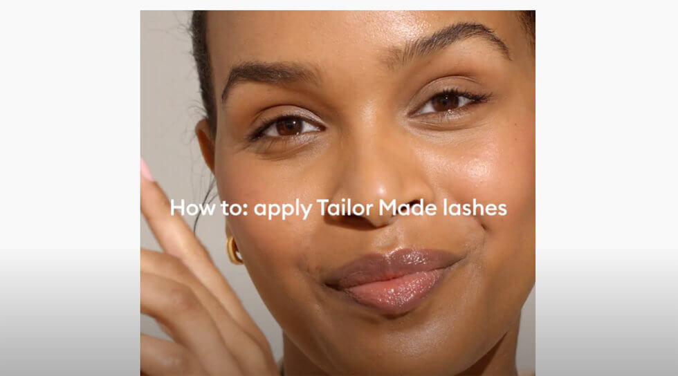 Tailor Made False Lashes, , video