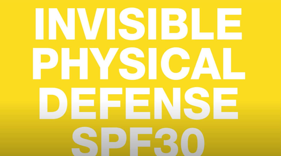 Invisible Physical Defense SPF 30, , video
