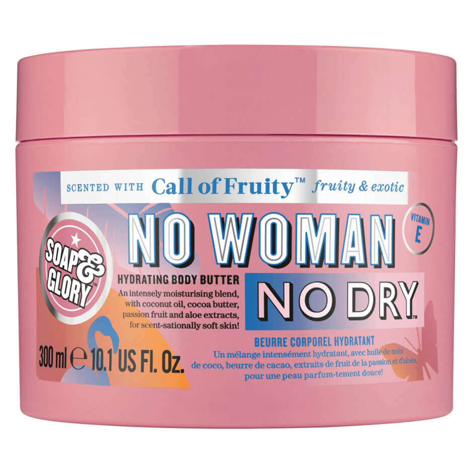 Soap & Glory - Call of Fruity No Woman No Dry Hydrating Body Butter