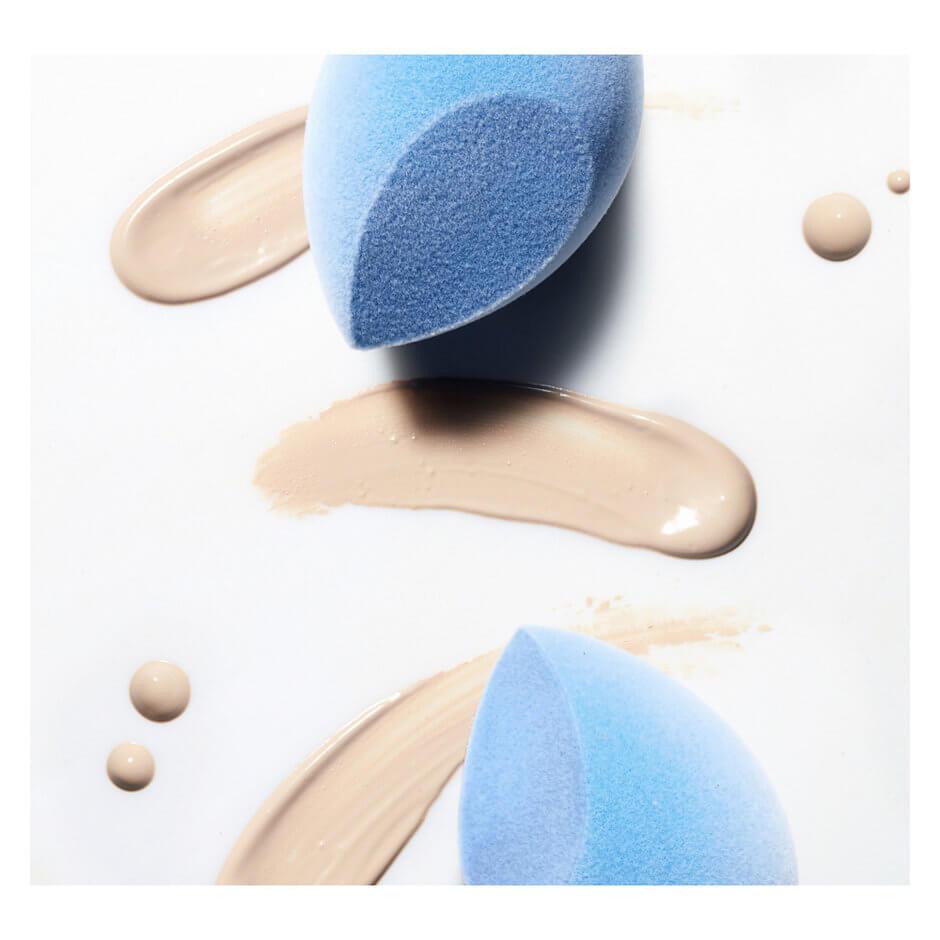 JUNO & Co - Microfibre Velvet Sponge - Blue