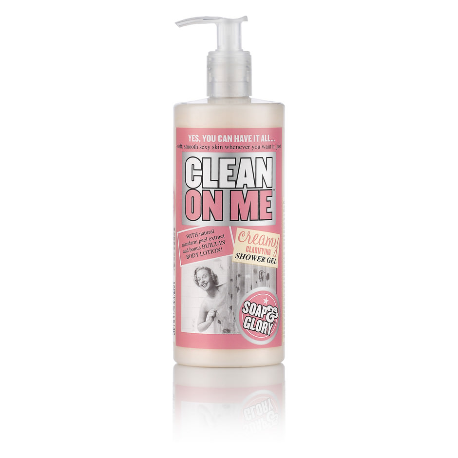 Soap & Glory - Clean On Me - Creamy Clarifying Shower Gel - 500ml