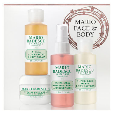 Mario Badescu - FACE BODY SET