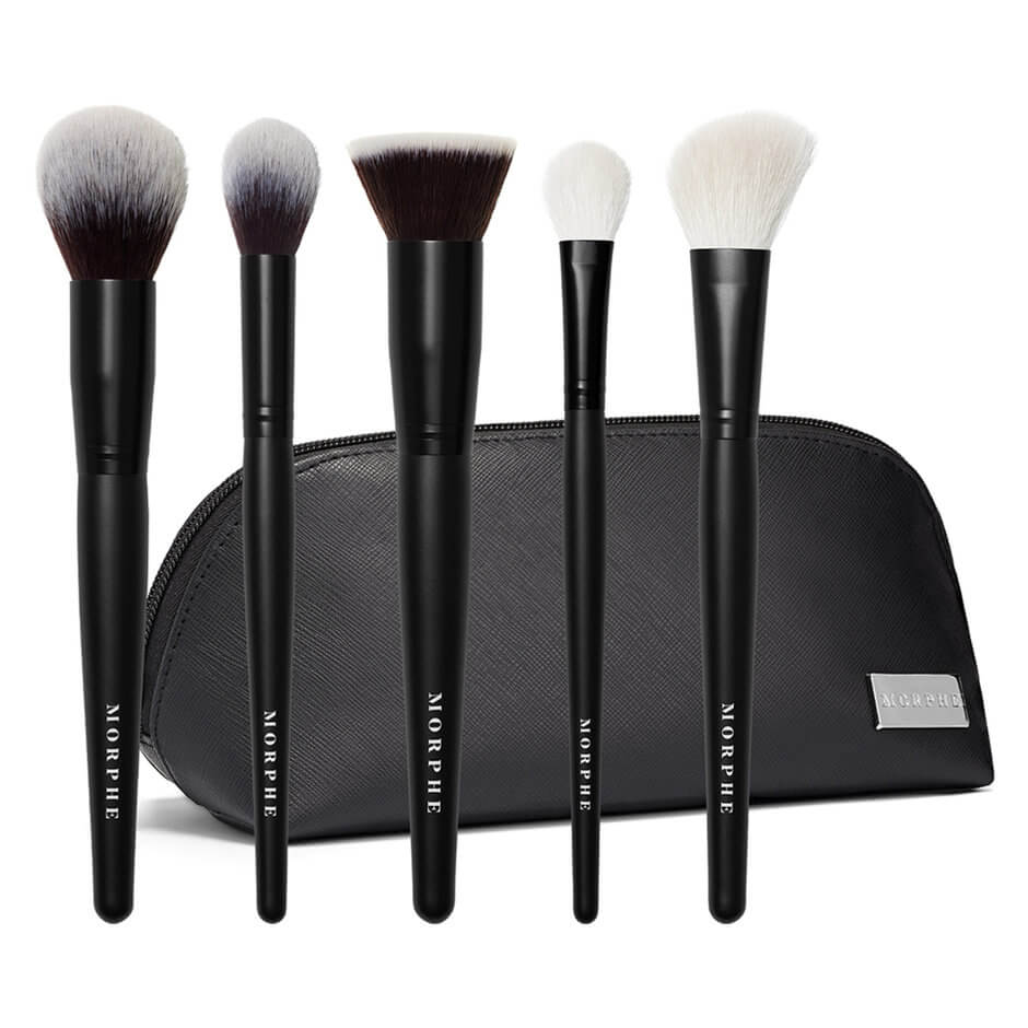 Morphe - FACE THE BEAT BRUSH SET 5PC