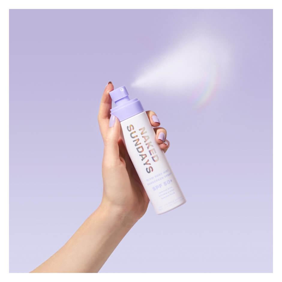 Naked Sundays - SPF50+ Glow Body Mist