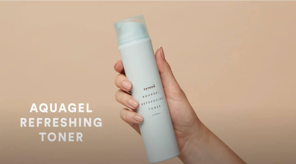Aquagel Refreshing Toner, , video