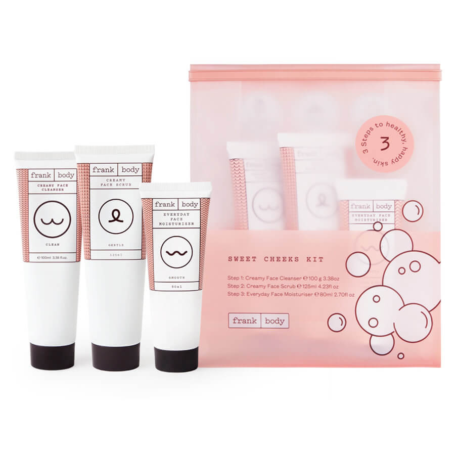 Frank Body - Sweet Cheeks Skin Kit