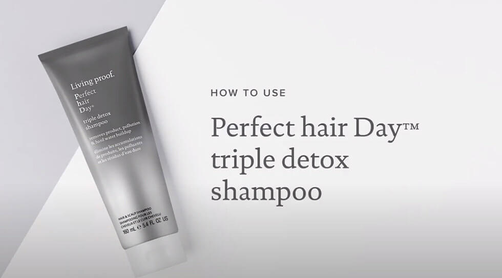 Perfect Hair Day Triple Detox Shampoo, , video