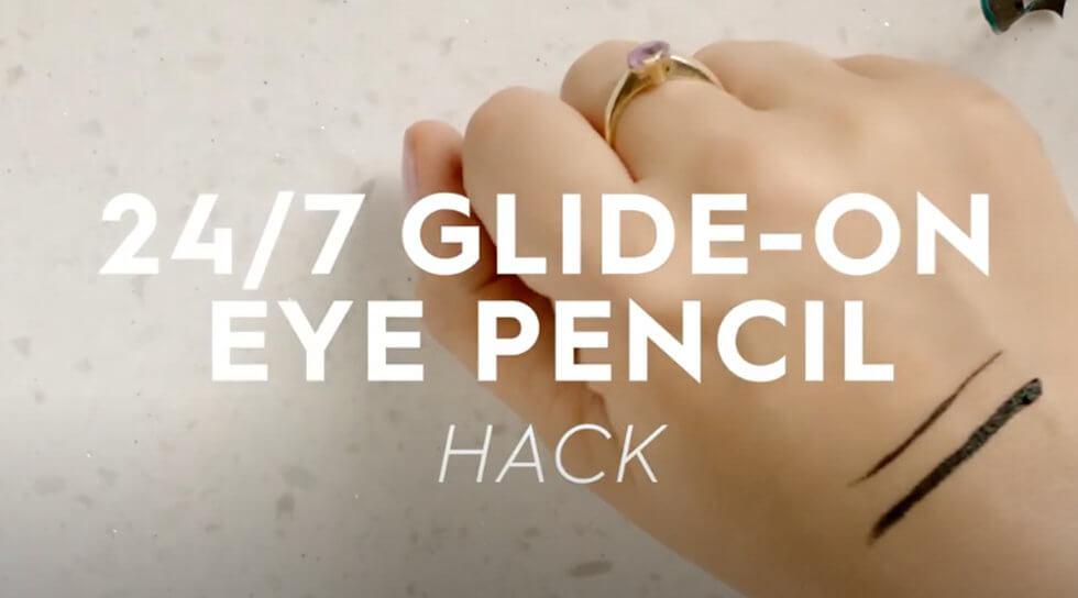 24/7 Glide-On Eye Pencil, Perversion, video