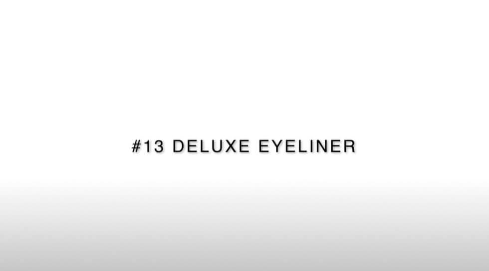 Jishaku #13: Deluxe Eyeliner, , video