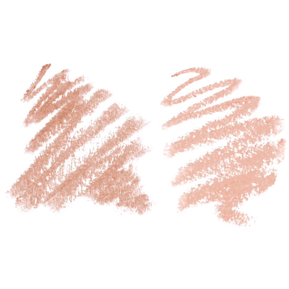 Highlighting Duo Pencil, Camille Sand, texture