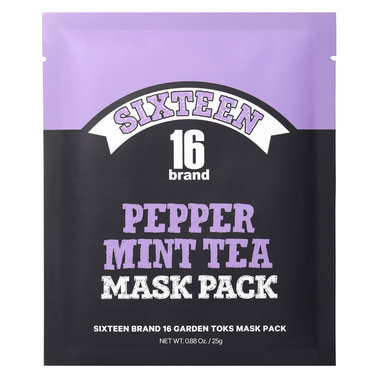 16 Brand - 16 Garden Toks Mask Pack Peppermint Tea