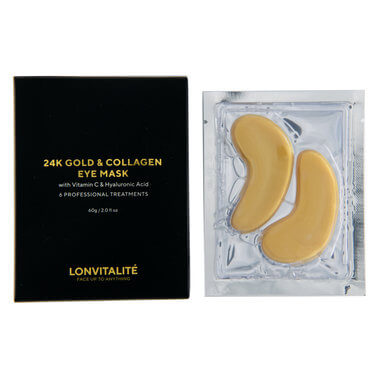 Lonvitalite - 24K GOLD EYE MASK 6PK