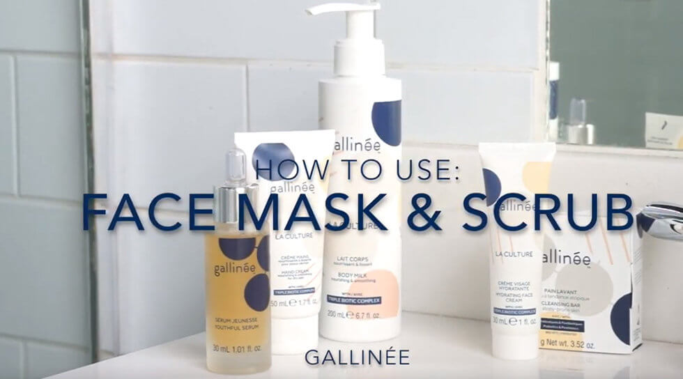 Gallinée - Face Mask and Scrub